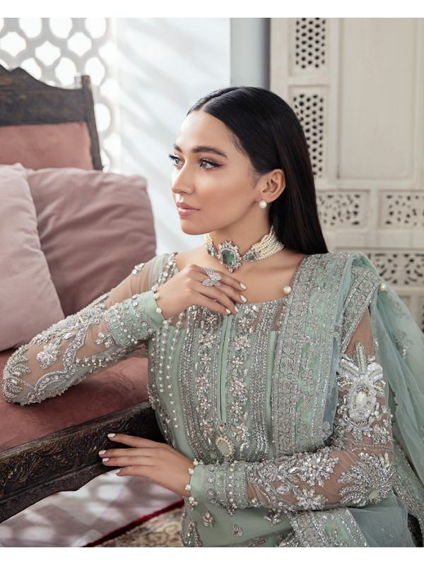 Zeba Embroidered Net 3-Piece Suit WS-21 - Meherma Wedding Formals Collection