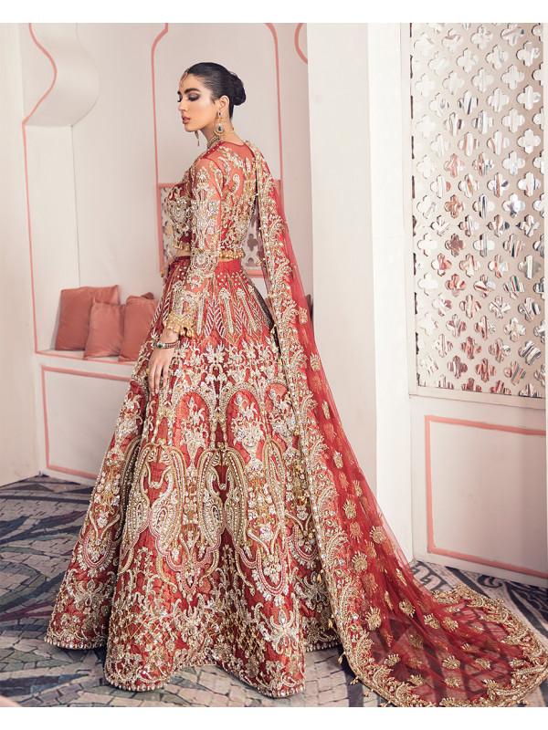 Zubia B-3 Shehrnaz Bridal Collection 2020