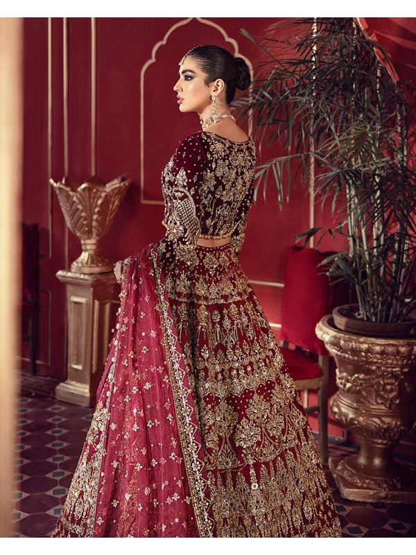 Husna B-5 Shehrnaz Bridal Collection 2020