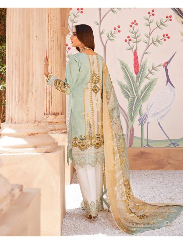 Afsana Digital Printed Lawn 3-Piece Suit LL-05 by Gulaal Luxury Lawn