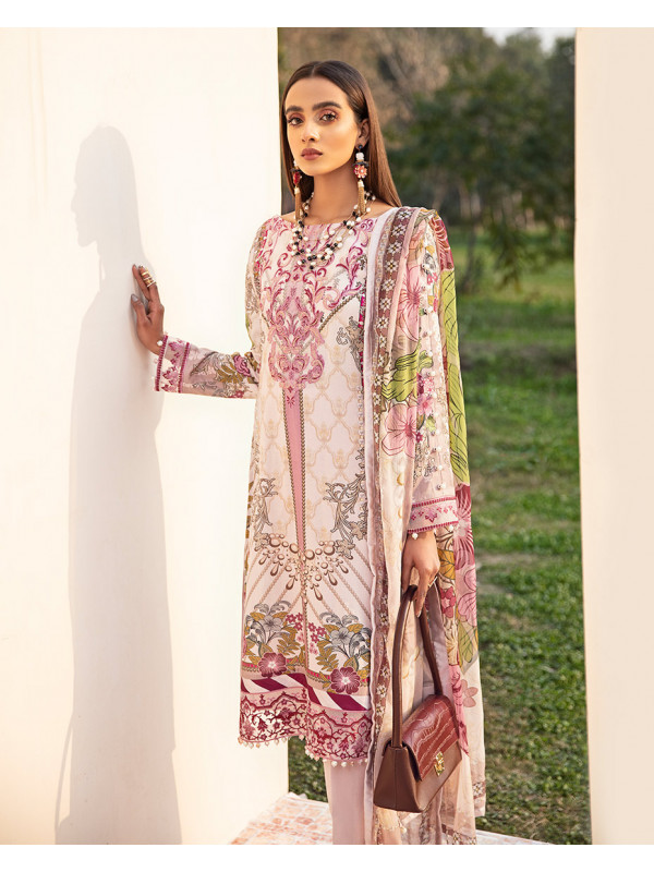 Azaleah Embroidered Organza 3-Piece Suit GL-10 By Gulaal Lawn 2021-Volume I